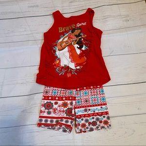 Disney Elena of Avalor Outfit Bundle Size 3T